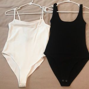 🌿Bundle of Forever 21 Bodysuits— Size Small
